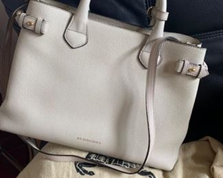 Burberry handbag with dust cover - $850 or best offer