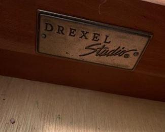 "*Drexel Studio Dresser with mirror (70""W x 20""D x 36""T) Mirror (48""W x 44""T) - $500 or best offer"