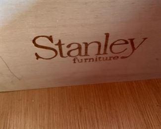 "Stanley Furniture desk (58""W x 22""D x 30"" T) - $400 or best offer"
