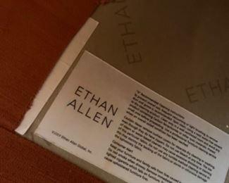 "Ethan Allen sectional (113"" W x 38""D x 30""T - 86"" return) - $1750 or best offer"