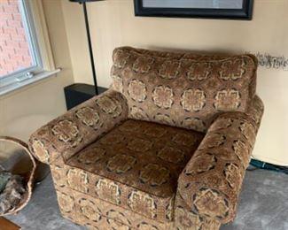 """Ethan Allen armchair (41""""W x 37.5""""D x 29""""T) - $475 or best offer"""