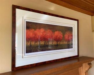 """Custom art (49.5""""W x 30""""T) - $350 or best offer"""