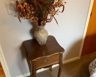 """Vintage nightstand (16""""W x 13.5""""D x 27""""T) - $40 or best offer"""