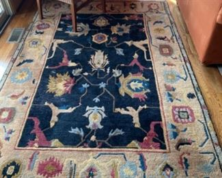 Custom area rug (8.5ft x 5.5ft) - $650 or best offer