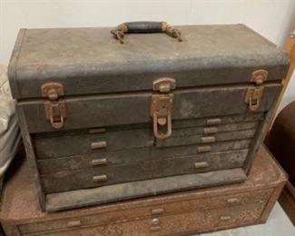 Vintage tool box - $75 or best offer