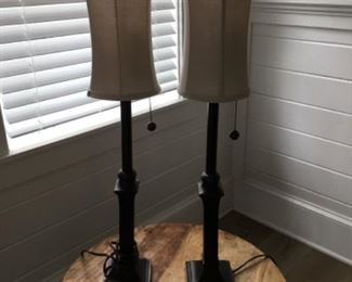 """Lamps (32""""T) - $40/each or best offer"""