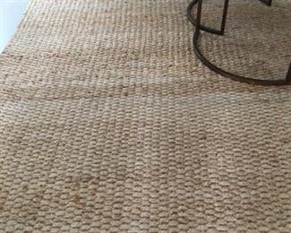 Jute rug (7ft x 9ft) - $200 or best offer