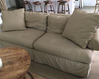 "Custom sleeper sofa (85""W x 28""D x 29""T) - $600 or best offer"