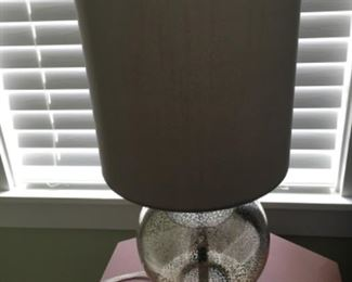"""Lamp (pair) (22""""T) - $40/each or best offer"""