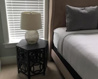 """Side tables (pair) (15.5""""W x 18.5""""T) - $75/each or best offer"""