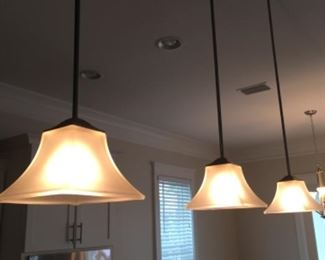 Pendant lights- $75 or best offer