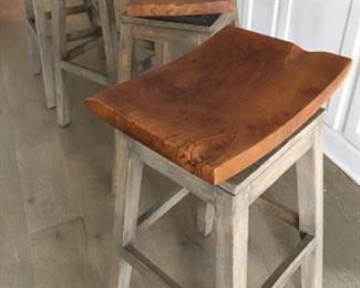 """Swivel top bar stools, 4 available  (29.5""""T) - $125/each or best offer"""