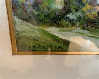 """Painting by Gunderson (13""""W x 11""""T) - $400 or best offer"""