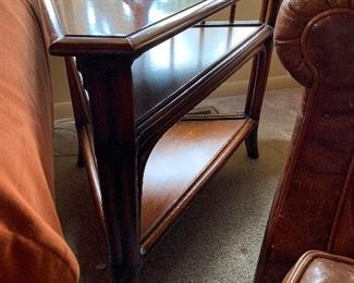 """Ethan Allen side table (29""""W x 20""""D x 24""""T) -$200 or best offer"""