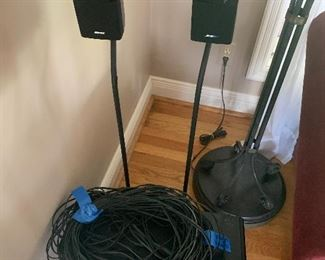Bose  surround sound with 2 speakers and subwoofer- $350 or best offer
