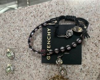 Givenchy Bracelet and earrings set - $25 or best offer