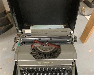 Underwood typewriter - $125 or best offer