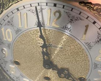 Howard Miller mantle clock - $40 or best offer