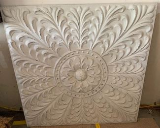 """Wall decor (47"""" square) - $125 or best offer"""