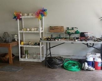 garage, tools, lawn items