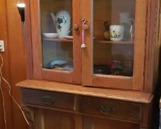 cupboard with key