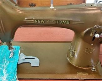 New Home sewing machine, works