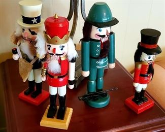$15 each - Nutcrackers