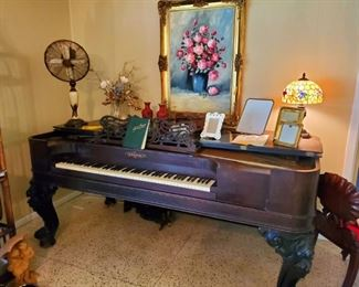 $500 - Chickering Square Grand Piano