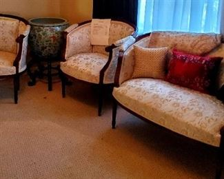 $1200 - Five Piece French Parlor Set
