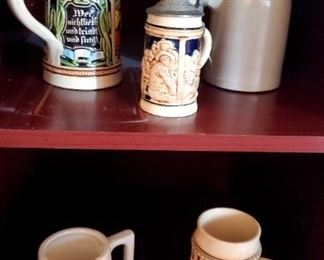 $20 each - Beer Steins