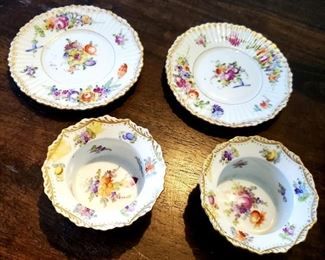 $40 - Dresden - Set of Ramekin Bowls w/ Saucers