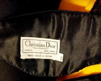 $60 - Christian Dior Beaded Waist Belt