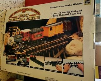 $80 - The Great American Express - Great Railroad Empire Set