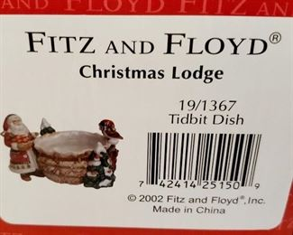 Fitz & Floyd - Christmas Lodge