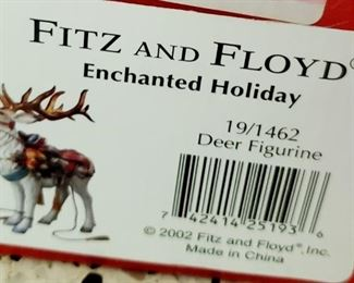 SOLD-Fitz & Floyd - Enchanted Holiday