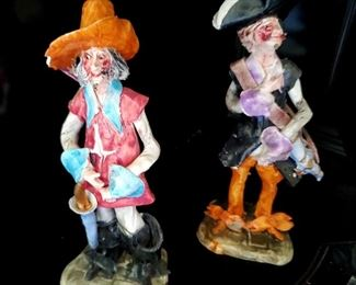 $20 each - Pirate Figurines