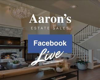 https://www.facebook.com/AaronsEstateSalesLLC/