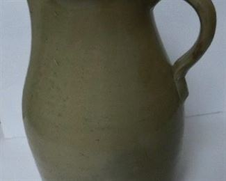 Sand Mountain Pitcher w/ Lime Glaze