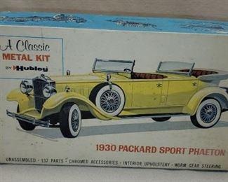 1930 Hubley Classic Metal Packard Sport Phaeton