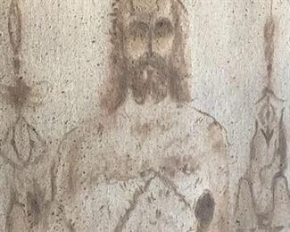 Shroud of Jesus! by Sidney  King!