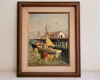 Signed Oil on Canvas By K.Kusenzov. Konstantin Konstantinovich Kuznetsov A Russian Artist Measured approx 21×26  Artist biography (1895 - 1980) Konstantin Konstantinovich Kuznetsov was active/lived in Russian Federation.  He is known for paintings Konstantin Kuznetsov was born in 1895 in St. Petersburg and became a very well known illustrator in the Soviet Union. As of 1944 he was in a prisoner of war camp in Yugoslavia, and after the war would later live in Munich before emigrating for the United States , where he would continue his career as an illustration artist..Konstantin Konstantinovich Kuznetsov arrived in Los Angeles from Russia in 1948. His illustrations and paintings, influenced by Ilya Repin's historical paintings and Belinin's fairy-tale folk style, quickly found favor with the Russian community In the 1950s, Kuznetsov met the Russian-born Sonia Colefax, who was quickly captivated by his style of painting, particularly his detailed, idealized works of Russia's past. Colefa