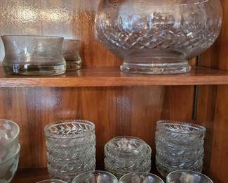 1505: Glass Punch Bowls, Decorative Bowls, Serving Bowls and More Glass Punch Bowls, Decorative Bowls, Serving Bowls and More
