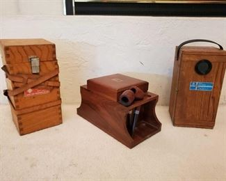 1077: 2 Antique Compasses, Pipe Case 2 Antique Compasses, and Pipe Case, Pip Case Includes 2 Pipes