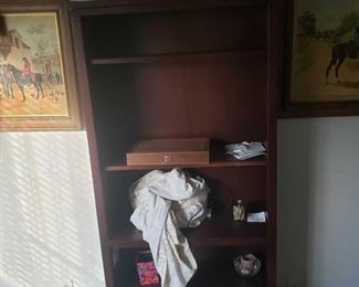 """Bookshelf and More! Includes everything on Bookshelf. Bookshelf Measures Approx 32""""(L)×72""""(H)×12""""(W)"""