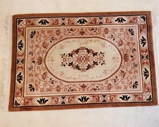 """Hand Woven Rug Measures Approx 48.5""""×80"""""""