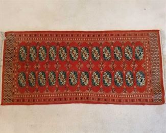 """Hand Woven Runner Measures approx 24.5""""×55"""""""