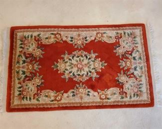 """Hand Woven Rug Measures Approx 37""""×65"""""""