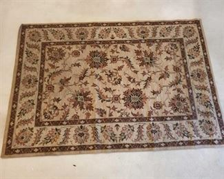 """Hand Woven Rug Measures Approx 63""""×92"""""""
