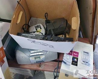 Sony Radio with CD Player, Jatom Music Equipment, Delphi XM Radio