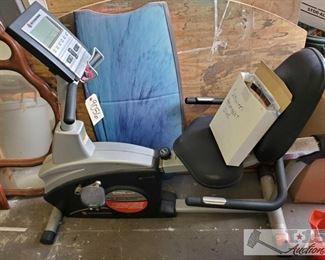 Schwinn Fitness 102/202 Bike approx 52'x24'x46':